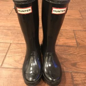 Girls hunter boots size 2